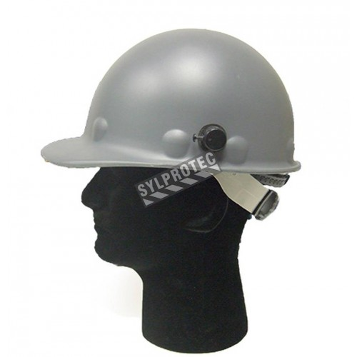 Fibre-Metal Roughneck P2A welding hard hat, with ratchet, certified CSA type I class G.