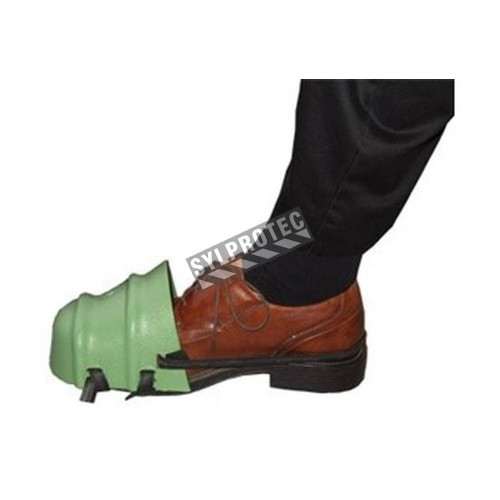 Protecteur de pieds en plastique (paire)