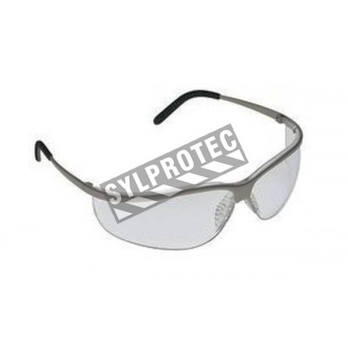 b4a964337c 3M Metaliks Sport protective eyewear with anti-fog treated clear polycarbonate  lenses. CSA approved