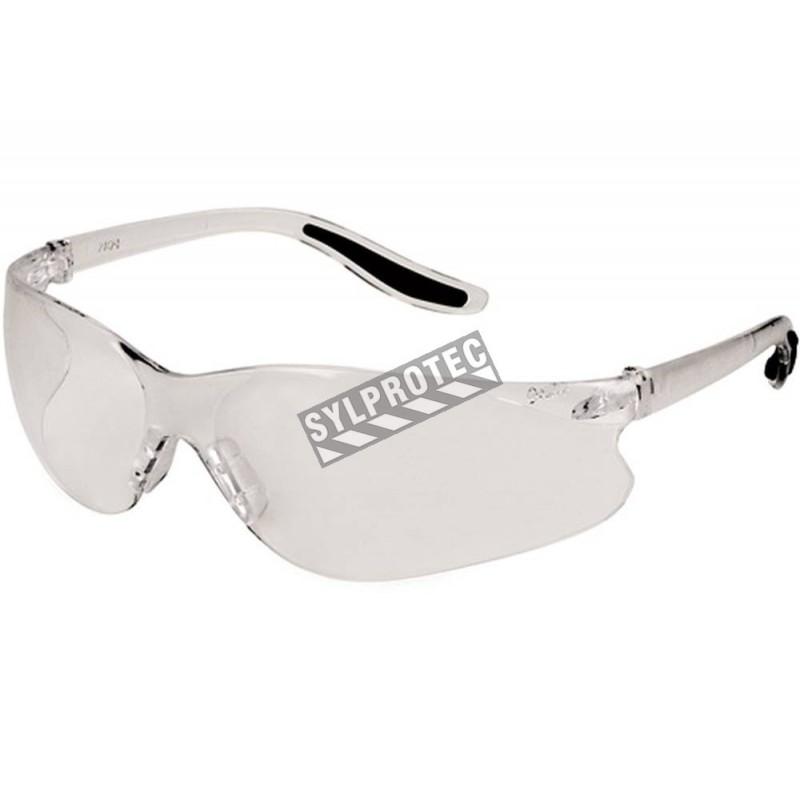 Lunettes Zenith Z500, sans monture et à lentilles transparentes, conformes CSA.