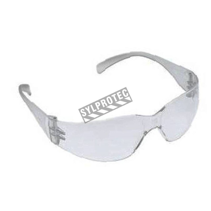70d942e5677 3M Virtua Max protective eyewear with anti-fog treated clear polycarbonate  lenses. CSA approved