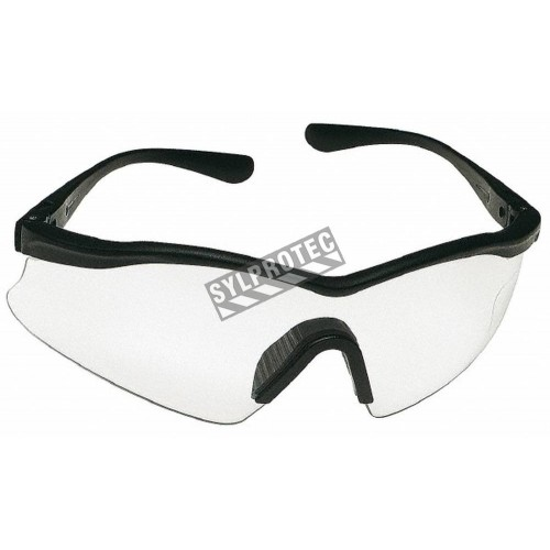 sporty glasses qbg0  3M XSport protective eyewear with anti-fog treated clear polycarbonate  lenses Lightweight