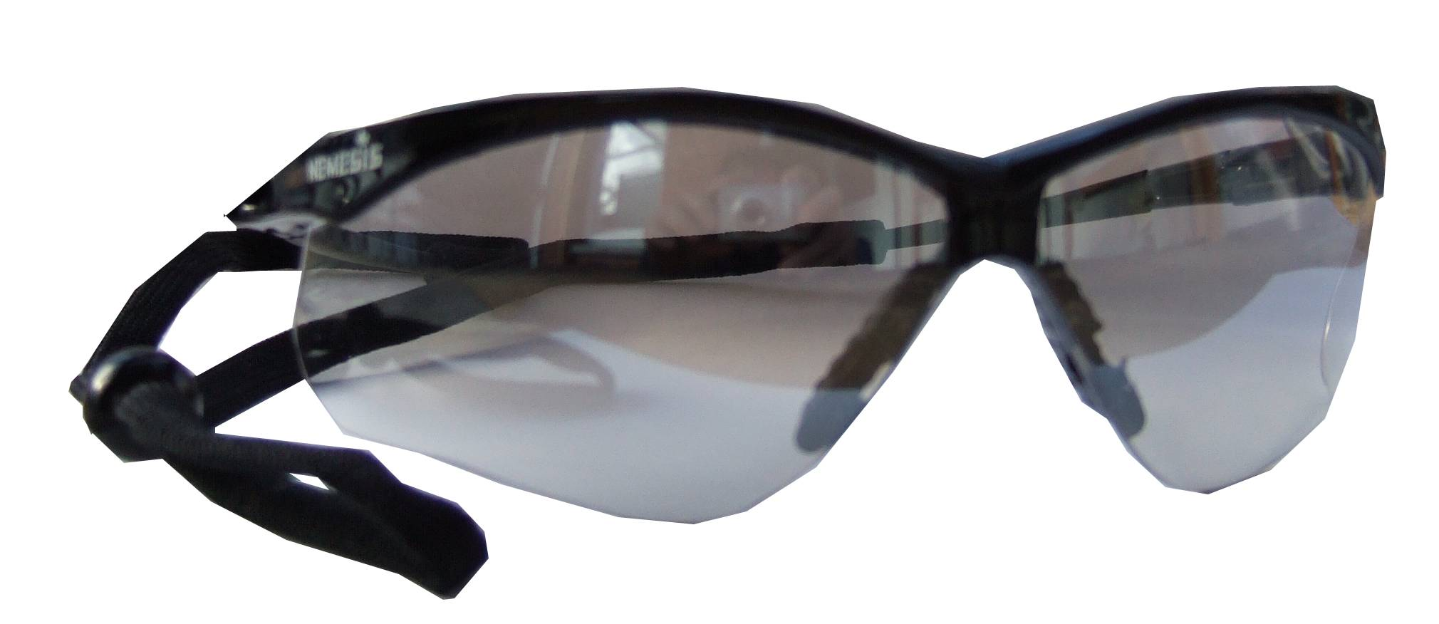 fb52a44cef Jackson Safety Nemesis protective eyewear with in outdoor lenses.