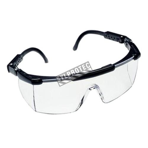 affiche casque et lunettes de s curit obligatoires options. Black Bedroom Furniture Sets. Home Design Ideas