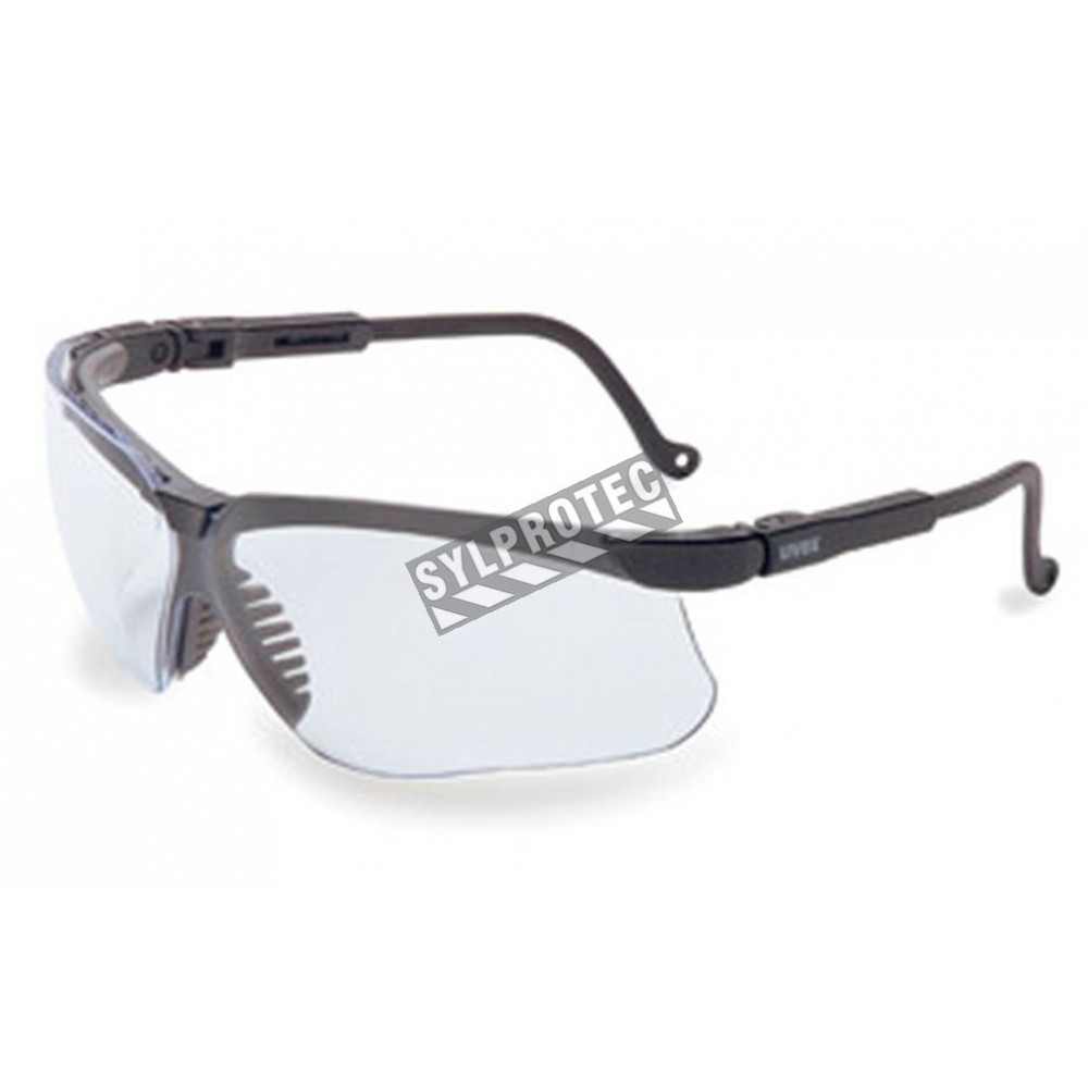 bf186d955dba Uvex Genesis protective eyewear with Uvextreme anti-fog treated clear  polycarbonate lenses. Exceed military