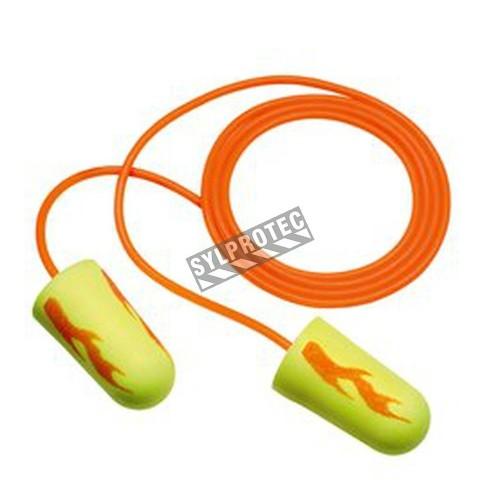 Bouchon EARSOFT régulier avec corde,33 db bt/200