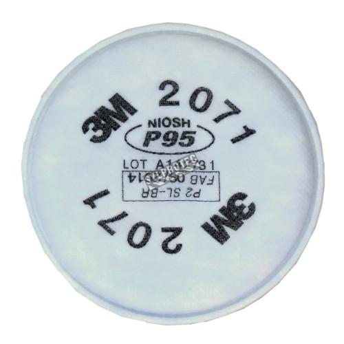 Filtre P95 pour masque de protection respiratoire série 6000, 7500 & Ultimate FX de 3M. Homologué NIOSH 2 unités.