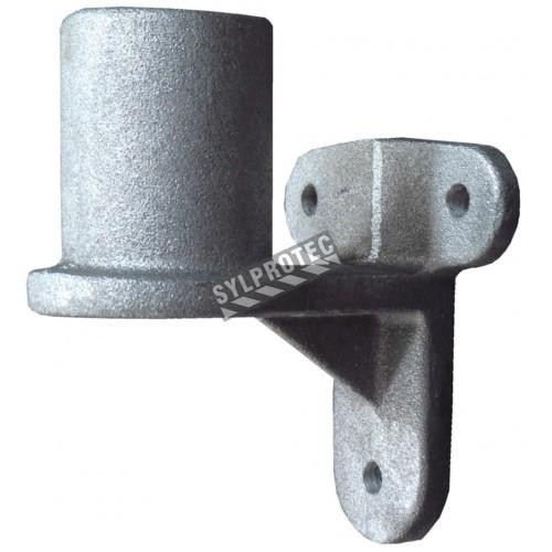 Wall bracket for horizontal fire hose reel