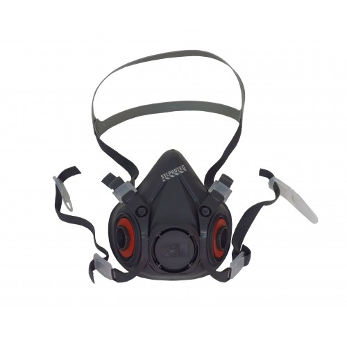 3M 6000 series NIOSH approved respirator. Lightweight and comfortable. Filter & cartridge not included. Large
