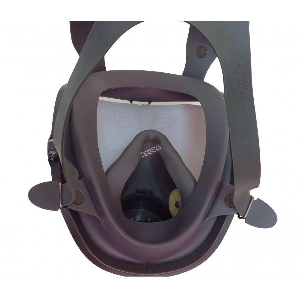 masque complet de protection respiratoire de s rie 6000 de 3m petit. Black Bedroom Furniture Sets. Home Design Ideas
