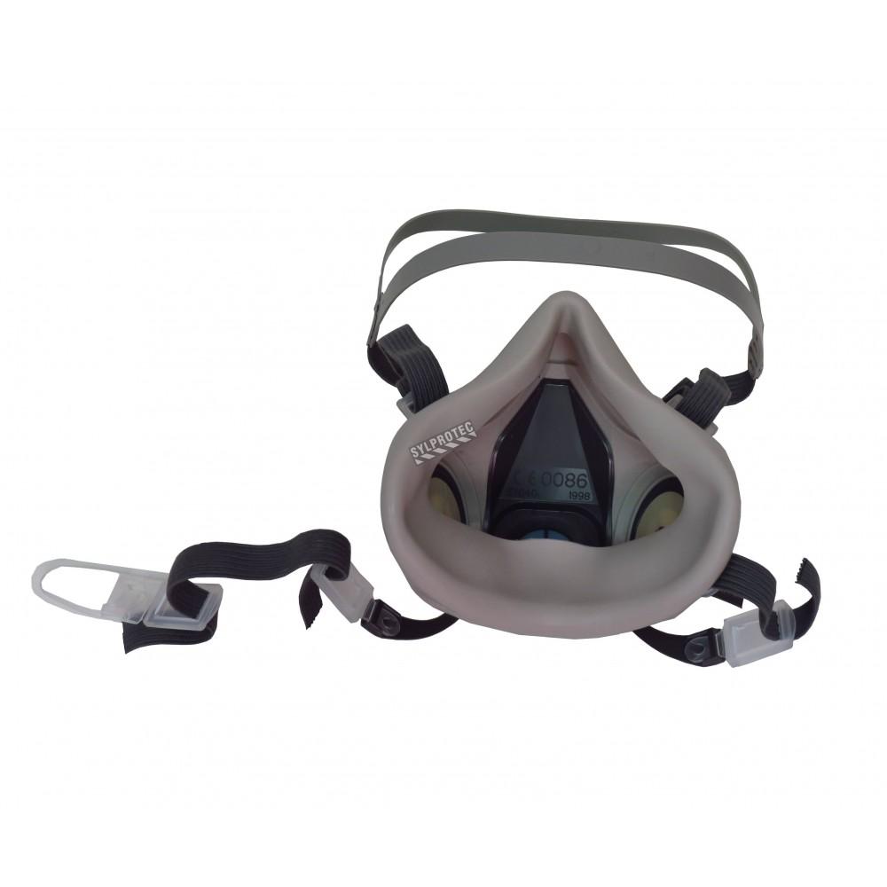 3m 7500 series half mask respirator small