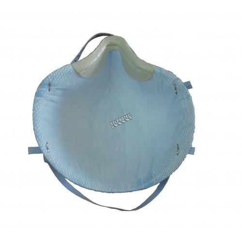 Respirateur N95 de taille moyenne par Moldex pour particules solides, liquides, non huileuses et biologiques. BFE 99%