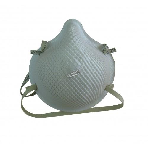 Respirateur N95 de taille petite par Moldex pour particules solides, liquides, non huileuses et biologiques. BFE 99%