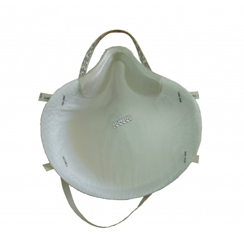 Small size Moldex N95 particulate respirator. Protects from solids, liquids, biological and non-oil based particles. 99% BFE.