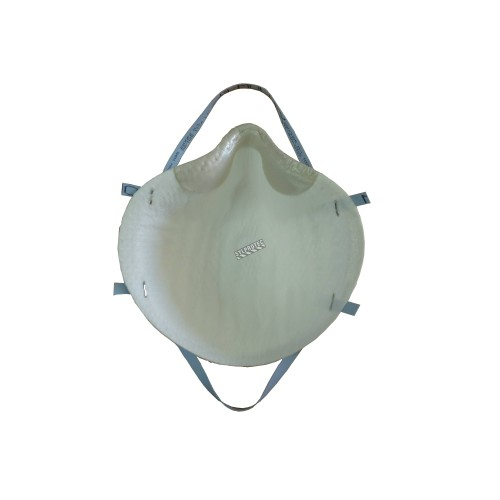 Moldex N95 NIOSH approved particulate respirator. Medium/Large size. Protects from solids and non-oil based particles. 99% BFE.