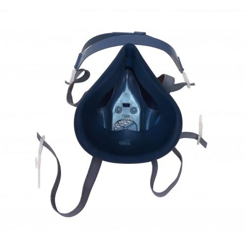 Demi-masque de protection respiratoire de série 7500 de 3M. Homologué NIOSH et CSA Z94.4. Cartouche et filtre non-inclus. Large.