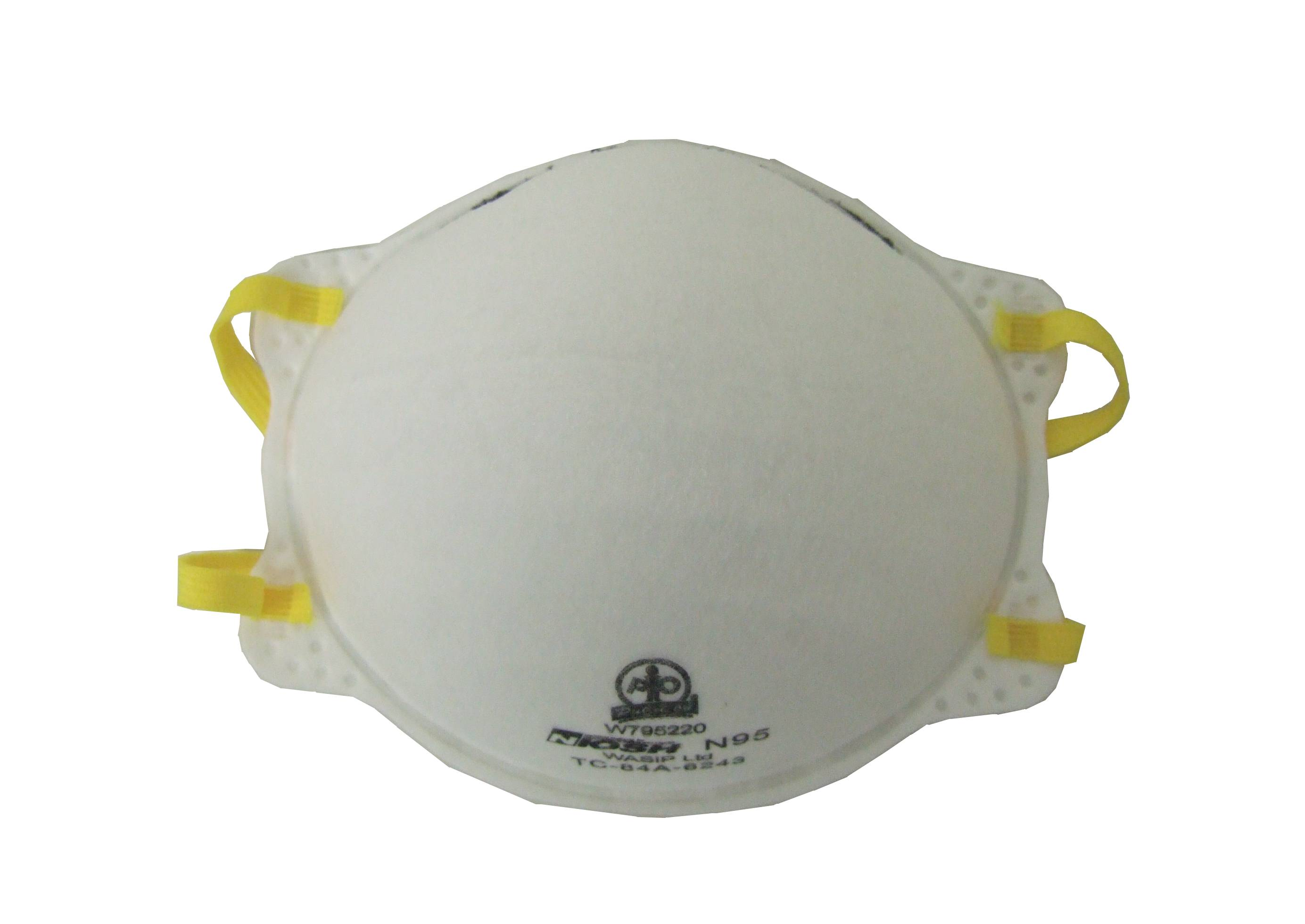 Solid For Per N95 Units Box Respirator box Cost-effective Particles 20 Non-oily amp; Protection Sold Liquid From Particulate