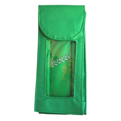 Étui de transport pour solution Cederroth pour lavage oculaire (250 ml).