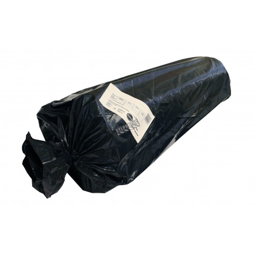 Clear polyethylene industrial film, 6 mils. Ideal to wrap bulky objects or to seal asbestos waste. Roll of 12'x100'.