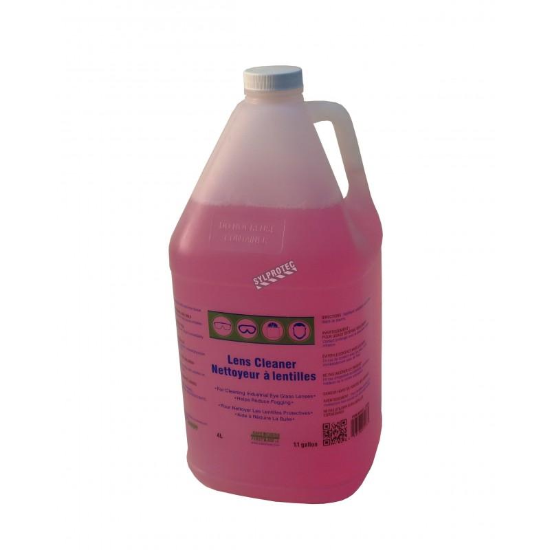 Liquide nettoyant anti-buée et anti-statique 4 litres
