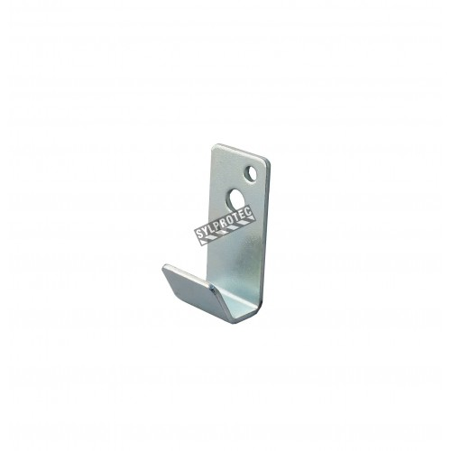 Universal wall hanger for some water or powder extinguishers