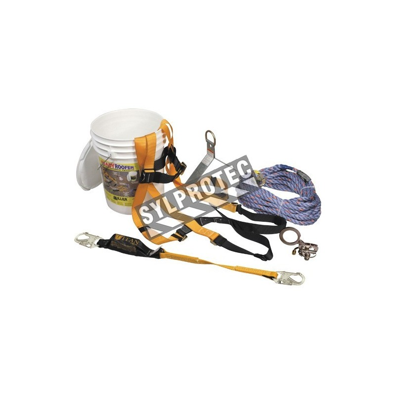 Miller roofing kit for fall protection
