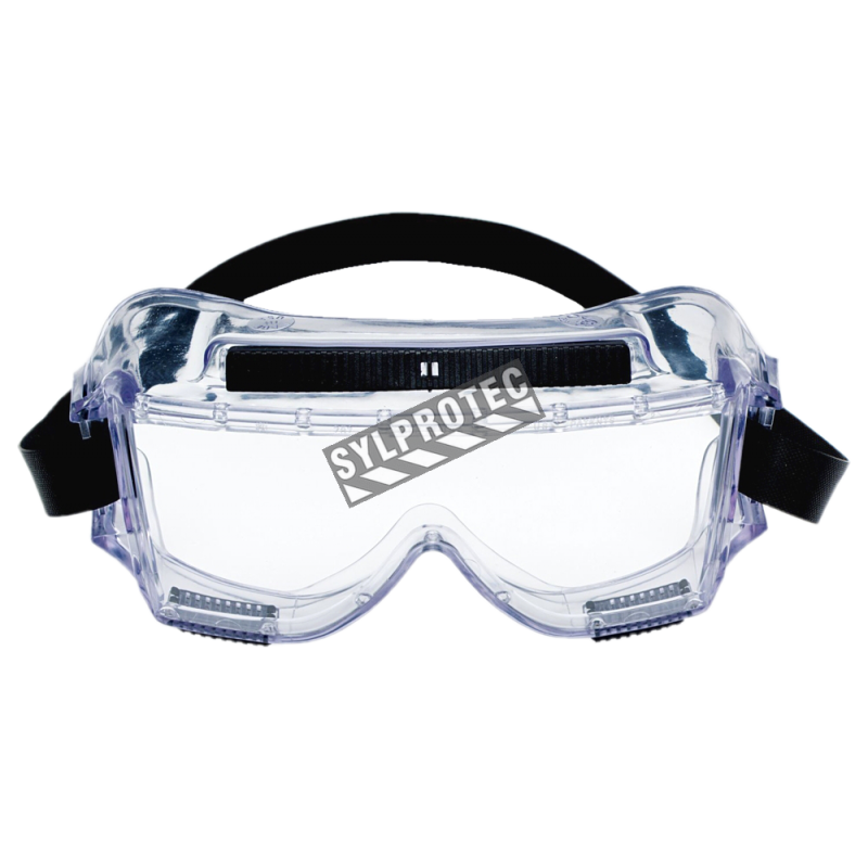 3m Centurion Safety Splash Goggle 454 With Clear