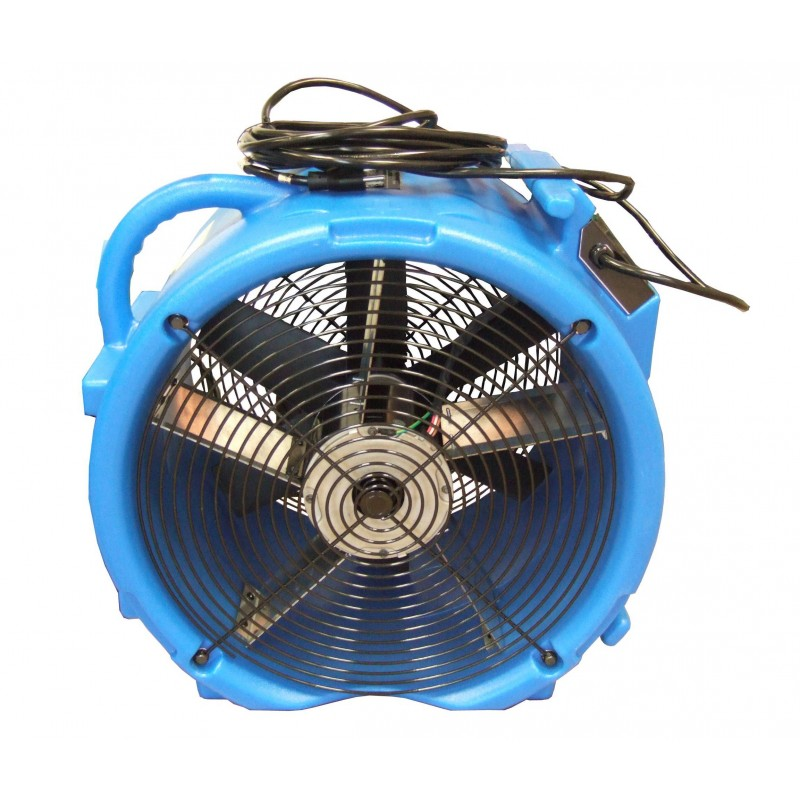 Axial Air Mover : Raptor two speed axial air mover for disaster recovery