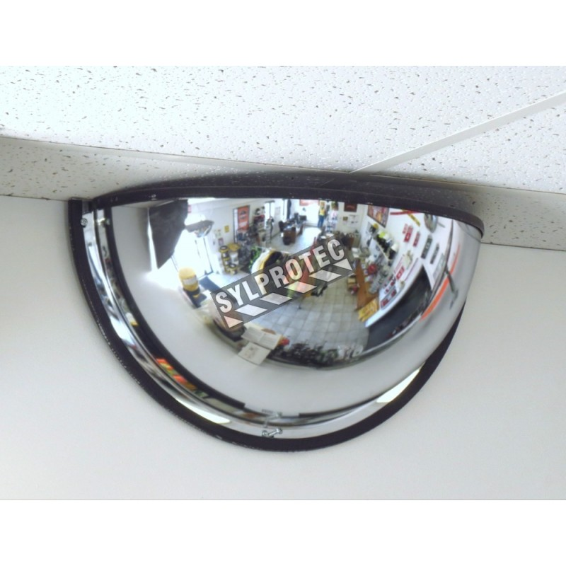 Acrylic Half Dome Convex Mirror For 180 176 View In A T