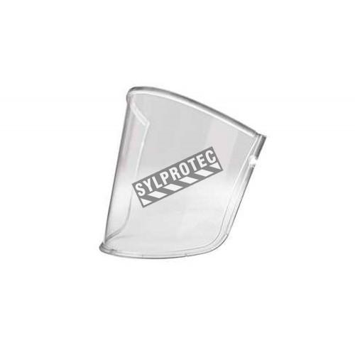 Visière RM925 en polycarbonate pour une protection contre les impacts et les égratignures. Compatible avec casque dur M-105.