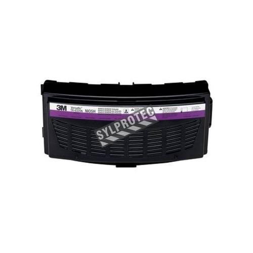 Cartouche HEPA combinée de 3M pour gaz acides compatible avec les respirateurs à épuration d'air motorisé Versaflo TR-600