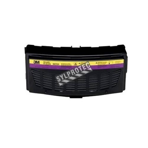 Cartouche combinée HEPA/gaz acides/vapeurs organiques compatible avec respirateur à épuration d'air motorisé Versaflo TR-600