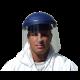 Serre-tête à rochet compatible avec toutes visières fabriquées par 3M pour protection faciale sur mesure. Visière non incluse.