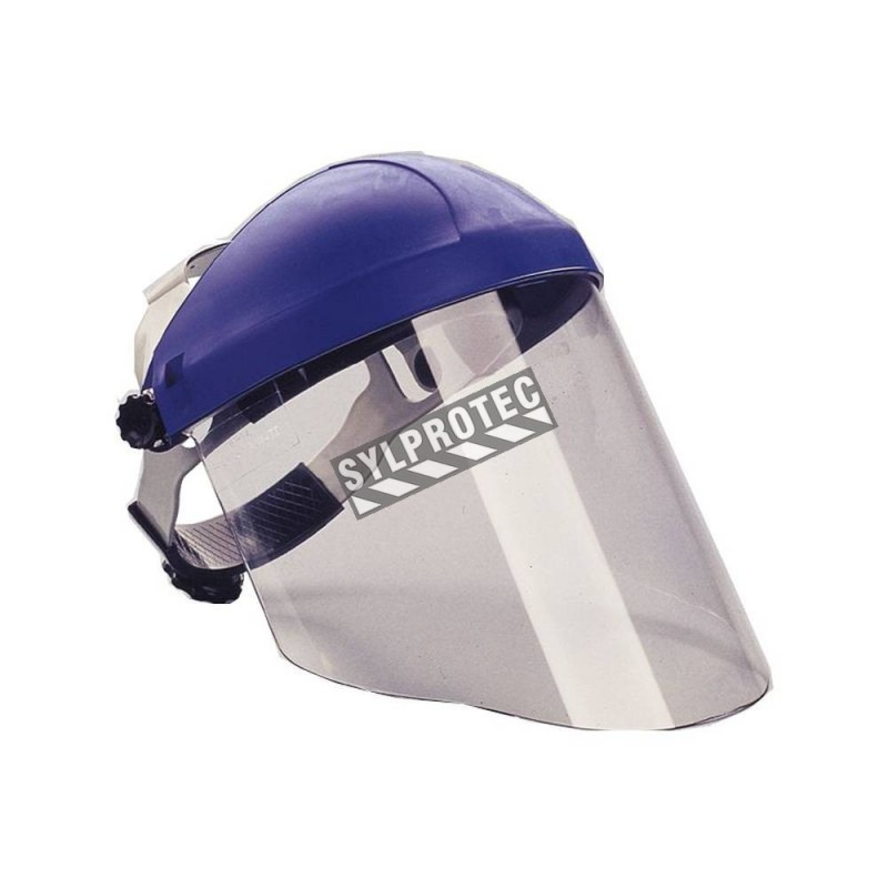 3M ratchet headgear compatible with all 3M faceshield for task specific face protection. Easy to adjust. Faceshield not included