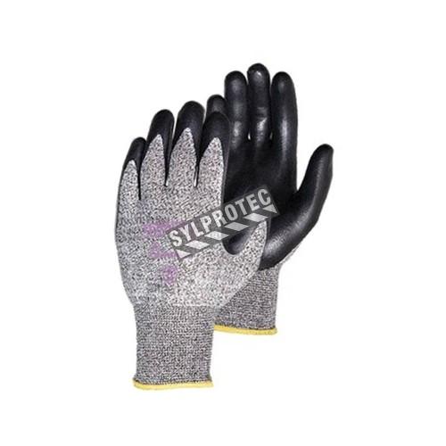 Gant anti-coupure ASTM/ANSI 3 TenActiv™ en composite anti-coupure enduit de mousse de nitrile compatible avec écrans tactiles