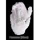 Mens' inspection gloves, lightweight bleached cotton.