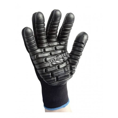 Vibration dampening gloves from Impacto, large