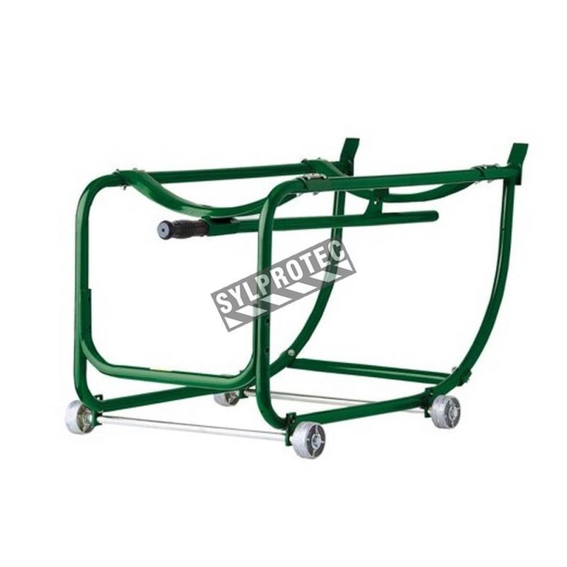 Chevalet à barils tout-usage compatible aux rails de l'armoire horizontale WA45H. Capacité 55 gallons US (600 lb).