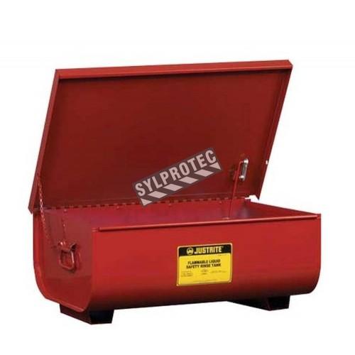 22 gallon steel bench top rinse tank