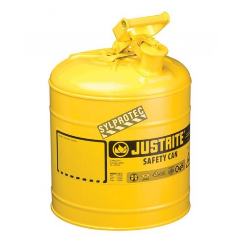 Steel Type 1 Flammable Liquids Container Of 1 Gallon Fm Ul