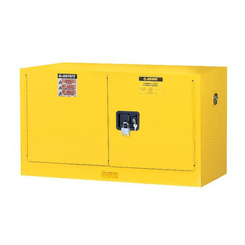 Wall Mounted Flammable Liquids Storage Cabinet 17 Us Gallons