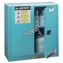 Armoire d'entreposage pour liquides acides et corrosifs. Capacité 30 gallons US (114 L). Approuvée FM, NFPA 30 et OSHA.