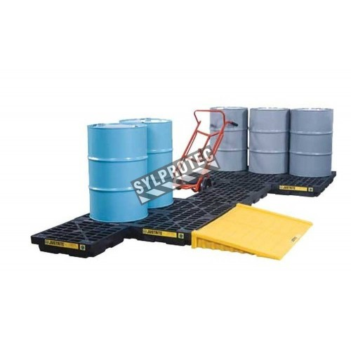 Ramp for Ecopolyblend accumulation Centers