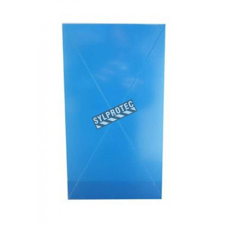 Acrylic replacement panel for EC1 surface-mounted cabinet model (for 20 lbs powder extinguishers).