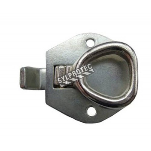Universal Corbin latch for recessed fire cabinet
