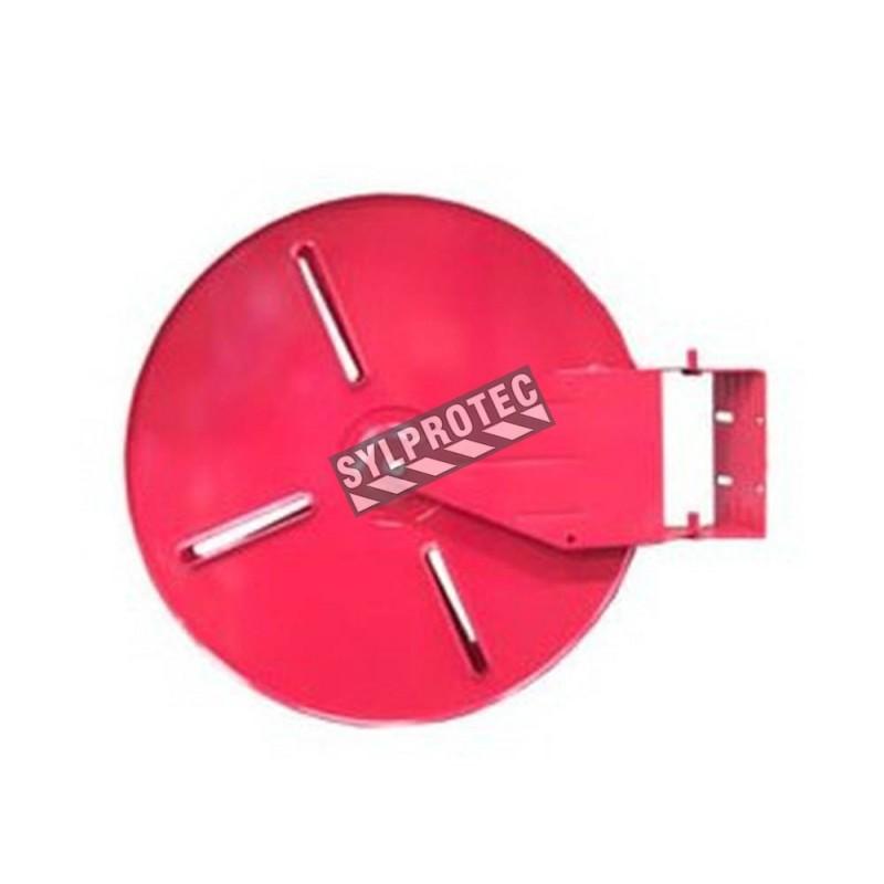 Dévidoir circulaire de 18 po pour boyau de 75 pi