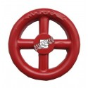 Hand wheel for fire hose valve of 7/16 in.