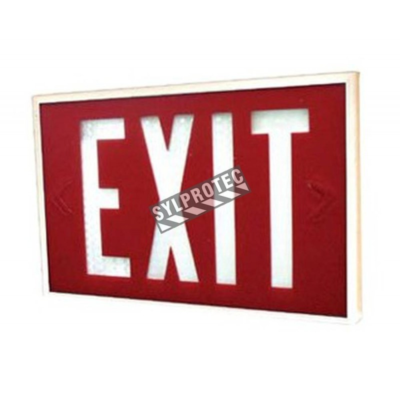 "Waterproof emergency ""Exit"" light with tritium"
