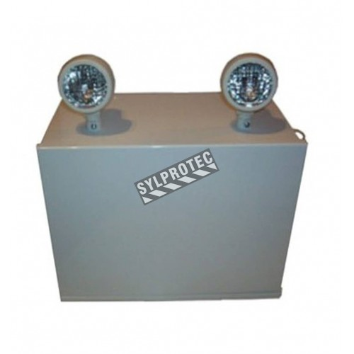 Emergency light unit 24 V 550 W with 2 spotlights