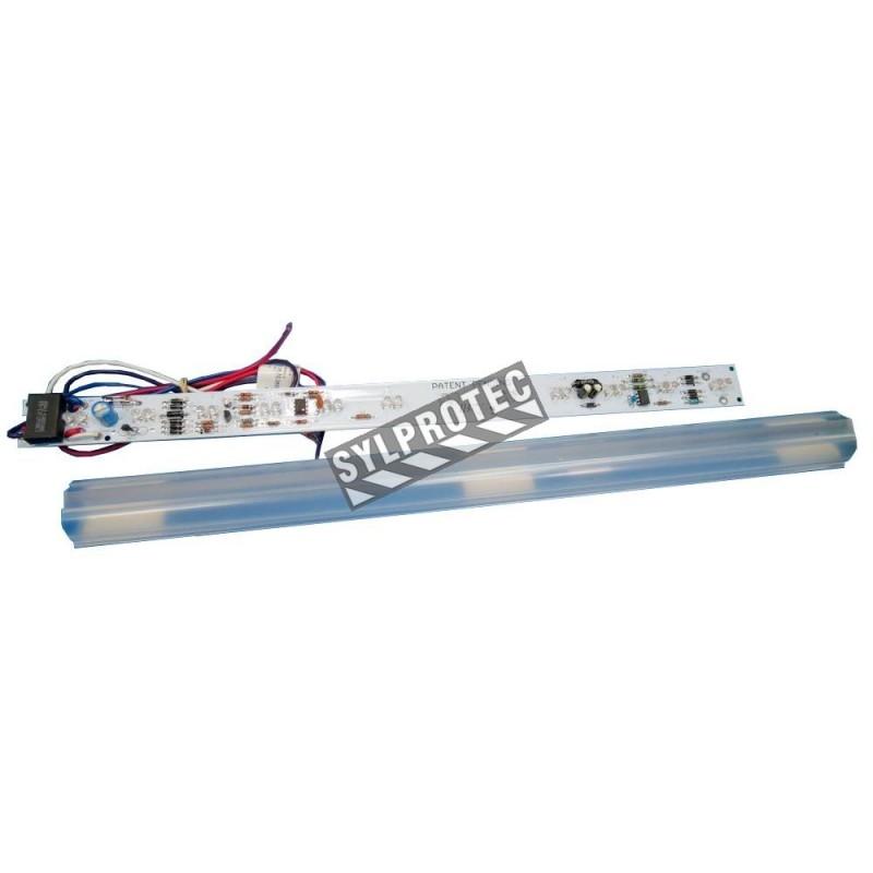 Barre de lumière 17 pouces AC 120 à 347 volts, DC 6 à 24 volts